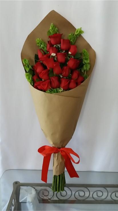 Ramo de 24 rosas craft decoflor floreria en chihuahua - Como secar un ramo de rosas ...