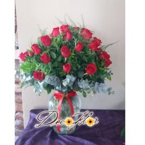 50 ROSAS JARRON