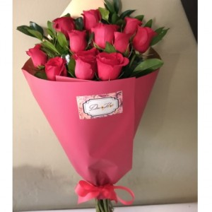 ramo clasico 12 rosas